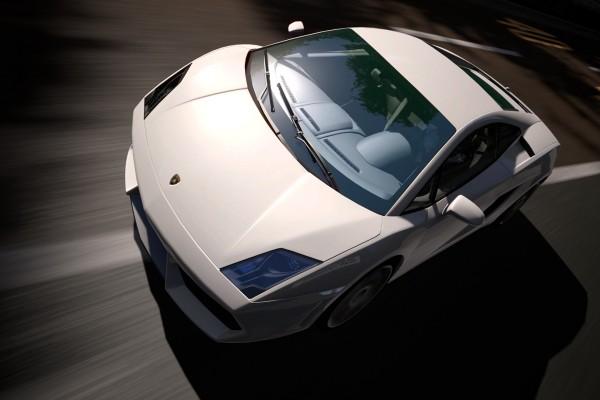 Lamborghini blanco