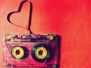 Postal: Música para enamorados