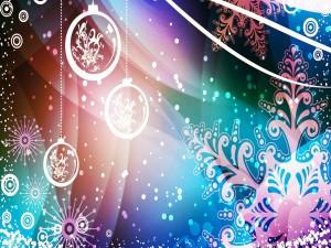 Fondo abstracto para Navidad