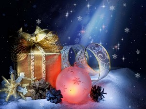 Postal para Navidad