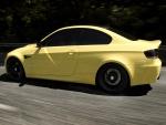BMW M3 amarillo