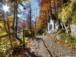 Postal: Capillita a orillas del camino