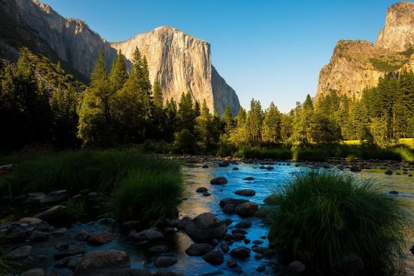 Tranquilidad, en el Parque nacional de Yosemite (California)