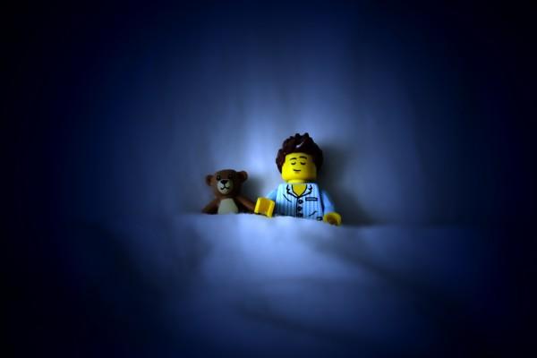 Un Lego dormilón