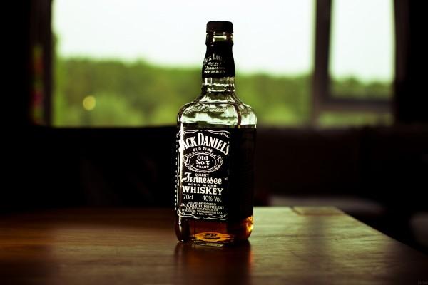 Botella de Jack Daniels