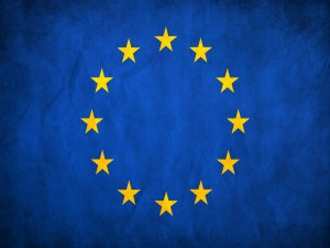 Postal: Bandera de Europa