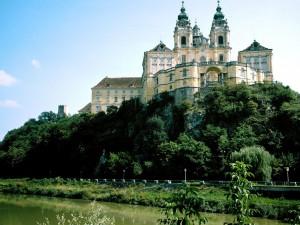 Postal: Abadía de Melk, Austria