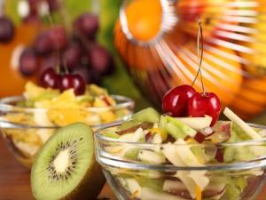 Postal: Ensalada de frutas