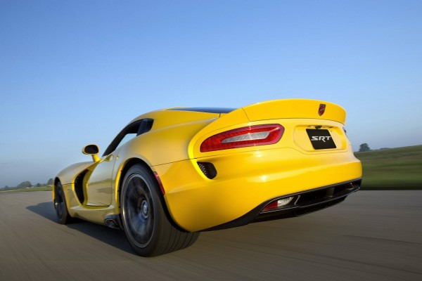 Dodge Viper SRT, amarillo