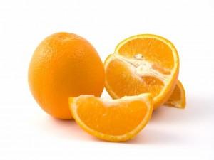 Naranjas con vitaminas