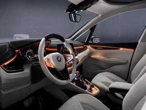 Dentro de un BMW
