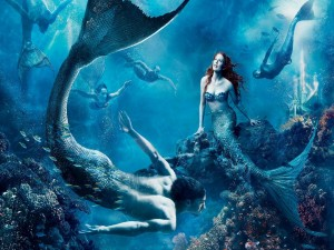 "Julianne Moore es ""La Sirenita"""