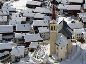 Iglesia de San Ulrich en Obertilliach, Tirol Oriental