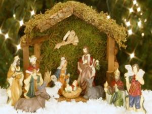 Postal: Nacimiento del Niño Jesús
