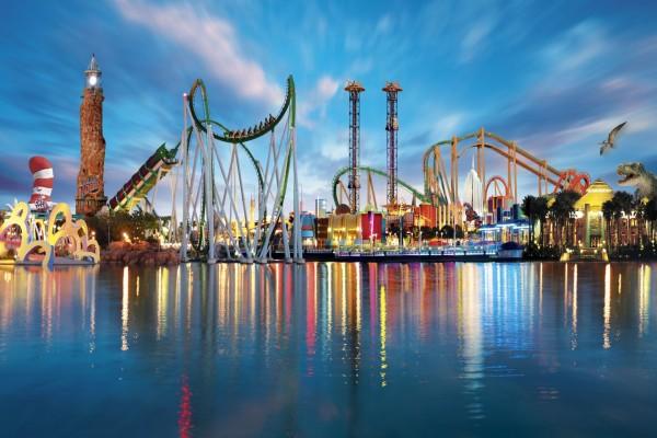Parque de diversiones en Orlando, Florida