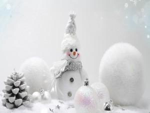 Postal: Decoración para Navidad