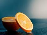 Una jugosa naranja