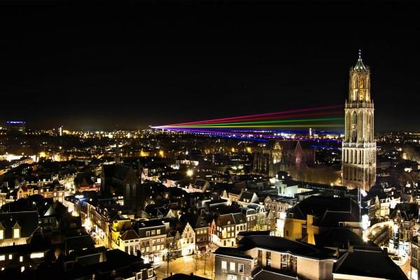 Noche en Utrecht (Países Bajos)