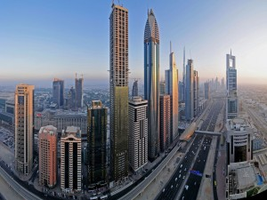 Impresionante fotografía de Dubái