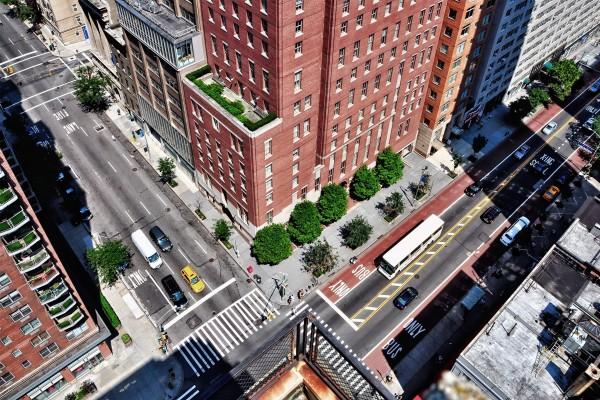Cruce de dos calles