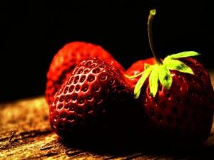 Bonitas y deliciosas fresas