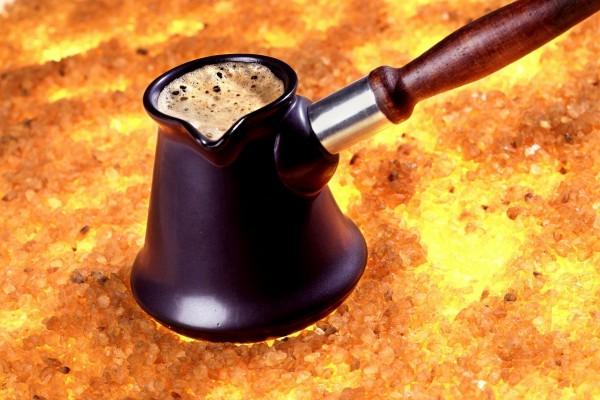 Una forma original de preparar café
