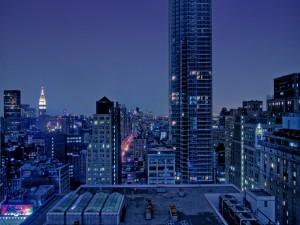 La oscuridad se adueña de la ciudad