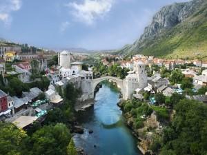 Ciudad de Mostar, Bosnia y Herzegovina