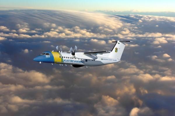 Avión de la Guardia Costera Sueca