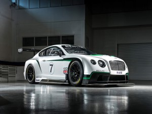 Postal: Bentley Continental GT3, coche de competición
