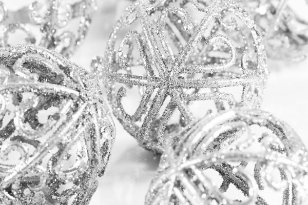 Bolas huecas para Navidad
