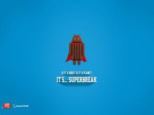Postal: ¿Es un pájaro? ¿Es un avión? Es... Superbreak