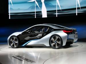 BMW i8 Concept, en exposición