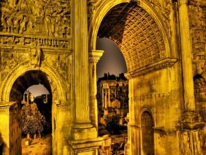Postal: Arquitectura antigua