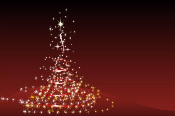 Árbol de Navidad de luces