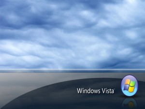 Windows Vista con nubes