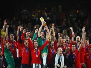 España, ganadores del Mundial de Fútbol 2010