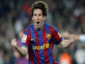 Gol de Messi para el Barsa