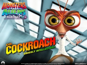 Postal: Dr. Cockroach (Monsters vs. Aliens)