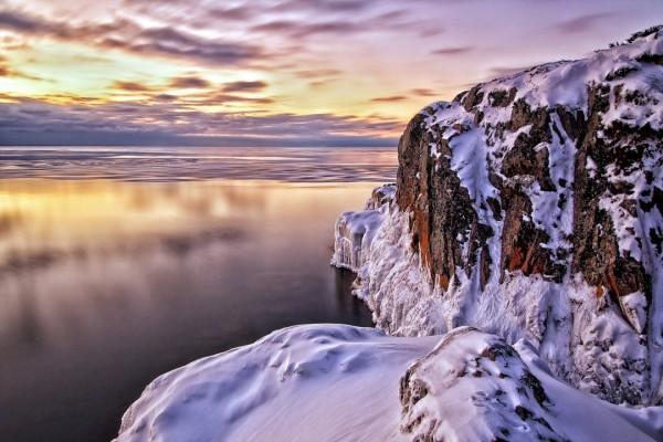 Mar y nieve