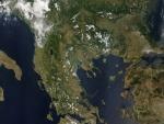 Grecia desde el espacio