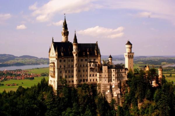Castillo de Neuschwanstein, en Fussen, Alemania