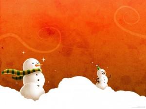 Muñequitos de nieve