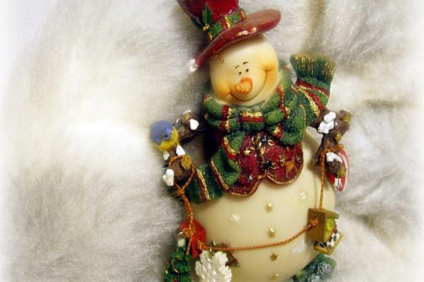 Muñeco de nieve para decorar