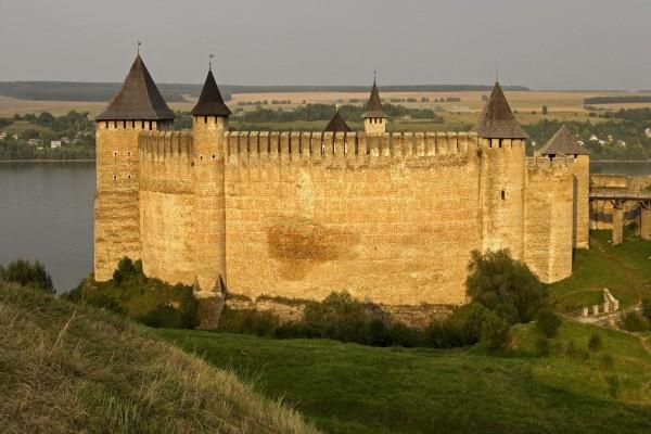 La Fortaleza de Khotyn, Ucrania