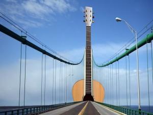 Postal: Puente musical