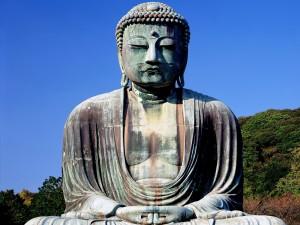El Gran Buda de Kamakura, Japón
