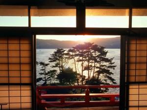Postal: Preciosas vistas desde la ventana