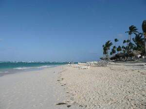 Postal: Playa en Punta Cana, República Dominicana