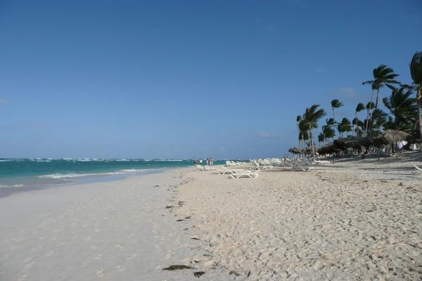 Playa en Punta Cana, República Dominicana